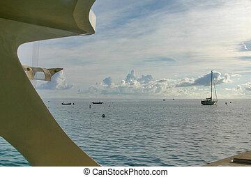 caribe, tranquilidad