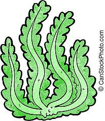 caricatura, alga