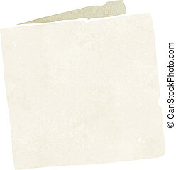 caricatura, blanco, tarjeta