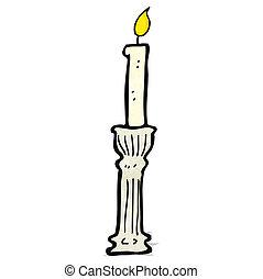 caricatura, candelero