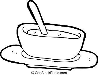 caricatura, sopa