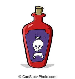 caricatura, veneno