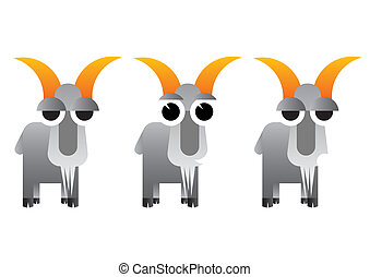 Caricature animals