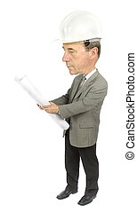 caricature of engineer