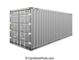 carico, vettore, contenitore