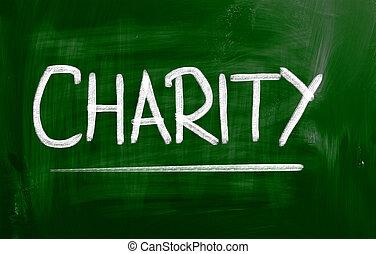 caridade, conceito