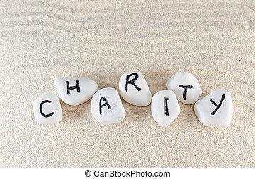 caridade, palavra