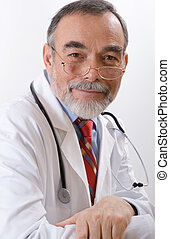 doctor - Caring doctor smiling. See more doctors' images