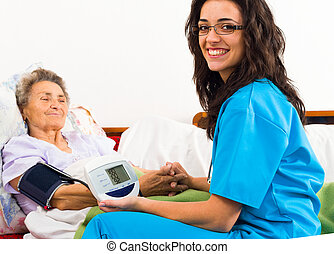 Caring for Senior Patient