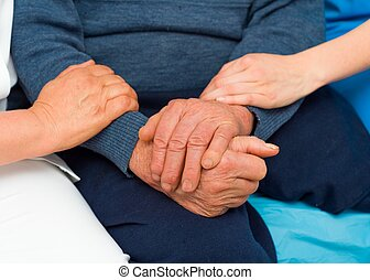 Caring Hands For Elderly
