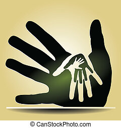 Caring hands - Pay it forward caring hands