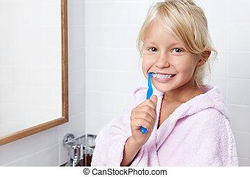 caring i, tænder
