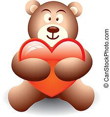 carino, orso