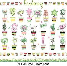 Topiary illustrazioni e topiaryillustrazioni e for Vasi erba