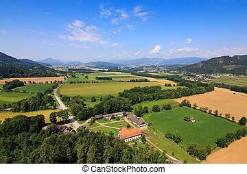 Carinthia during Summer in Austria