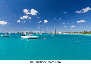 Carlisle Bay in Barbados