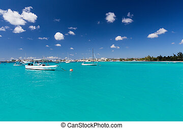 Carlisle Bay in Barbados
