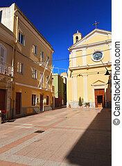 Carloforte - San Carlo square