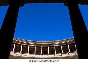 Carlos V Palace