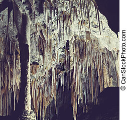 Cave - Carlsbad Caverns National Park in USA