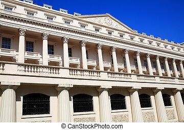 Carlton House Terrace in London, England, UK, designed by...