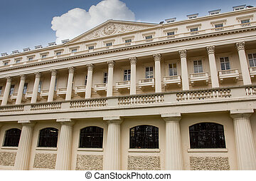 Carlton House Terrace in london