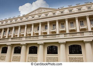 Carlton House Terrace in london