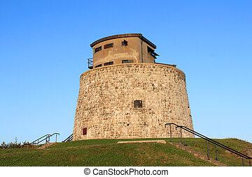 Carlton Martello Tower in Saint John, NB - Carlton Martello...
