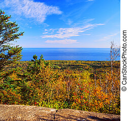 Carlton Peak Overlook - Minnesota - Brilliant autumn vista...
