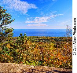 Carlton Peak Overlook - Minnesota - Brilliant autumn vista...