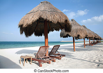 carmen, del, praia, playa, méxico