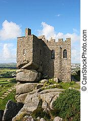Carn Brea Castle 2 - Castle built into granite rocks
