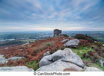 Carn Brea Castle - A long exposure of Carn Brea and it's...