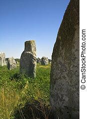 carnac scene - carnac dolmens