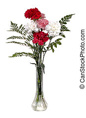 Carnation Bouquet - Beautiful carnations bouquet in a tall...