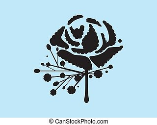Carnation Buttonhole Flower Vector - Classic carnation...