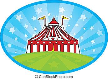 carnaval, テント