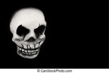 carnaval, cráneo