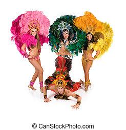 carnaval, danseurs