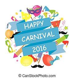 carnaval, feliz