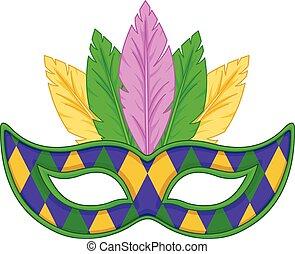 carnaval, máscara