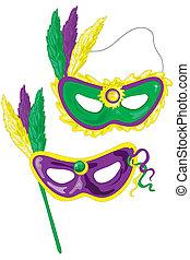carnaval, máscaras