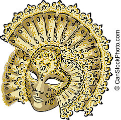 carnaval, mask., veneziano