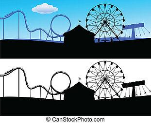 carnaval, paysage
