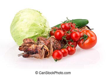 carne, asado
