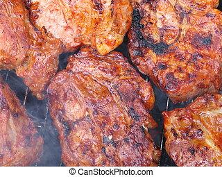 carne, barbacoa