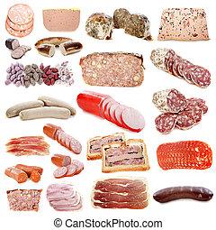 carne cocinadas