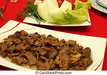 carne, comida