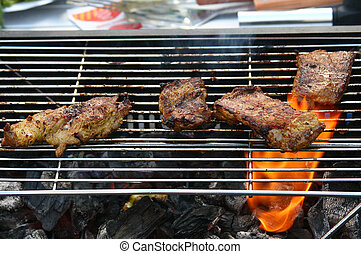 carne cotta, bbq
