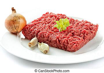 carne de vaca picadita